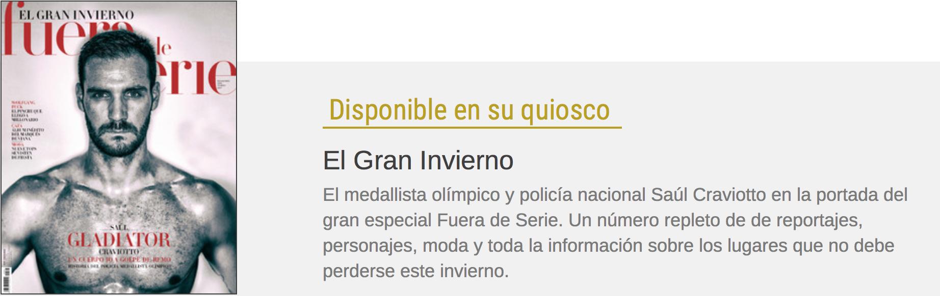 REPORTAJE ABALÓN BY GMA EN LA REVISTA FUERA DE SERIE, CON EL DIARIO EXPANSIÓN